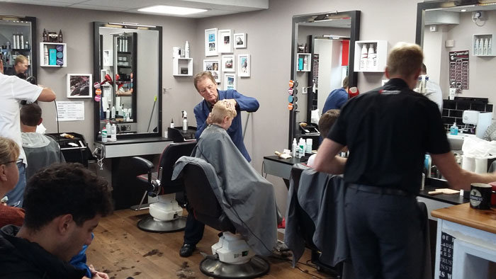 Roger's Barber shop in St.Johns, Worcester.   Quality Mens Hair Cuts and Student Barbers